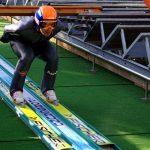 Skocznia narciarska w Szczyrku – trening